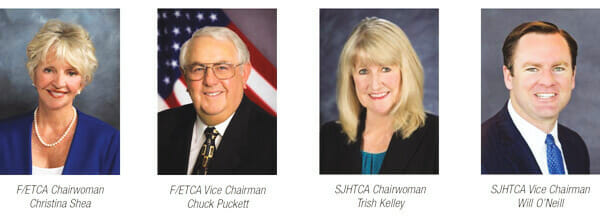 TOLL ROAD AGENCY NAMES NEW DIRECTORS AND APPROVES $38.7 MILLION DOLLAR BRIDGE